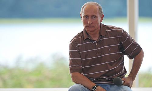 """Национальному лидеру пришлось ответить и на не совсем удобные вопросы - например, о продолжающихся по всей стране протестах и нарушениях, которыми сопровождается расследование беспорядков, произошедших в центре Москвы после """"Марша миллионов"""" 6 мая."""