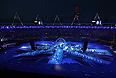 На Олимпийском стадионе в Лондоне началось красочное представление, приуроченное церемонии закрытия ХХХ летних Олимпийских Игр. Игры-2012 проходили в Лондоне с 27 июля по 12 августа. На Олимпиаде было разыграно 302 комплекта наград.