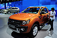 "Автомобиль Ford Ranger Wildtrak, представленный на ММАС 2012 в ""Крокус Экспо""."
