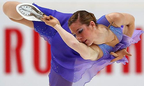 Россиянка Полина Коробейникова.