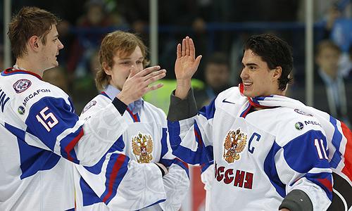 Хоккеисты молодежной сборной России по хоккею (до 20 лет) в поединке за бронзовые медали чемпионата мира одолели ровесников из Канады.
