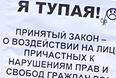 Митинг против запрета на усыновление гражданами США российских сирот прошел в Санкт-Петербурге