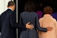 Переизбранный президент США Барак Обама в понедельник на торжественной церемонии в Вашингтоне принял должностную присягу.