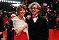 Режиссер Вим Вендерс с женой Донатой.