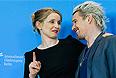 """Жюли Дельпи и Итан Хоук представили в Берлине фильм Ричарда Линклейтера """"Перед полуночью""""."""