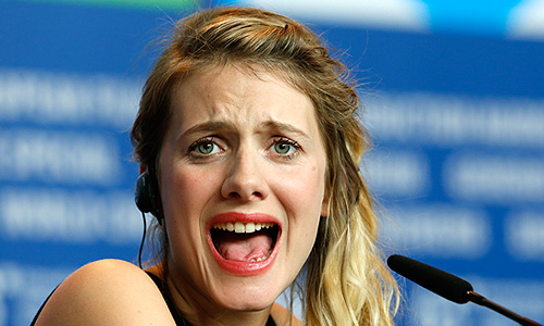 """Мелани Лоран представила в Берлине фильм """"Ночной поезд до Лиссабона""""."""