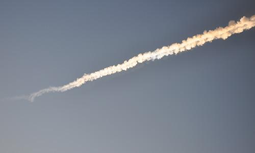 В небе над Уралом в пятницу утром сгорел метеорит.