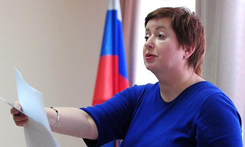 Супруга А.Козлова журналист Ольга Романова во время рассмотрения требования снизить ему срок наказания