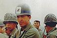Уго Чавес в годы прохождения военной службы.