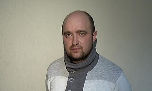 Андрей Липатов, задержанный по подозрению в нападении на художественного руководителя балетной труппы Большого театра Сергея Филина.