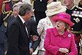Июнь 2007г. Тони Блэр и Маргарет Тэтчер на церемонии памяти 25-летней годовщины конфликта вокруг Фолклендских островов.