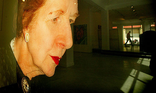 Фотопортрет Маргарет Тэтчер художника Пола Грэхэма.