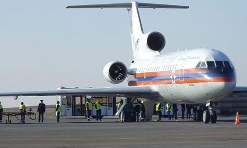 Встреча школьников, попавших в ДТП в Бельгии, в аэропорту города.