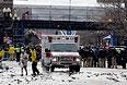 Американские СМИ сообщали также о третьем взрыве, который произошел в библиотеке Кеннеди примерно через час после первых двух, но позже выяснилось, что это было бытовое возгорание, не имеющее отношение к теракту.
