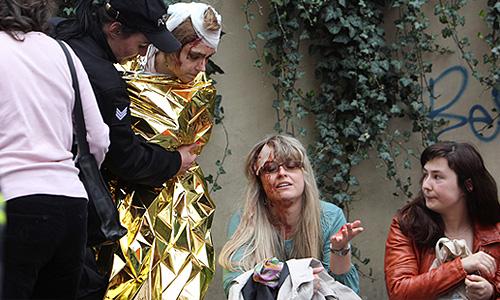В результате взрыва в центре столицы Чехии, по последним данным, ранения получили до 40 человек, сообщает агентство AP. Ранее сообщалось о 13 пострадавших.