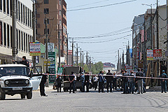 В Дагестане взорвалась бомба
