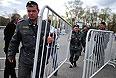 Усиление мер безопасности перед митингом оппозиции на Болотной площади.