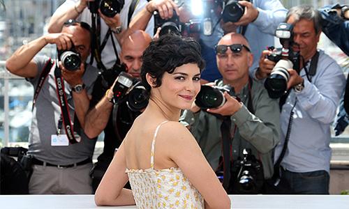 Одри Тоту - ведущая церемонии открытия Каннского кинофестиваля.