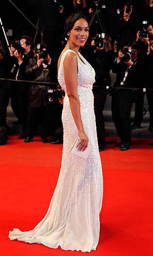 Актриса Розарио Доусон.