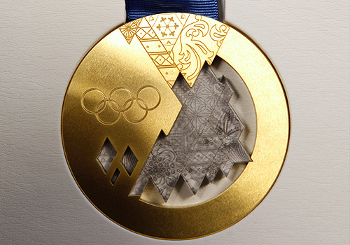 Презентация комплекта медалей Олимпиады Сочи-2014 - фото 4 из 6 ...