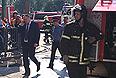 """В среду утром на станции метро """"Охотный ряд"""" московского метро произошло задымление; полиция и спасатели эвакуировали со станции метро """"Охотный ряд"""" и """"Библиотека имени Ленина"""" около 4,5 тысяч человек."""