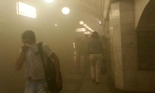 """Возгорание произошло на перегоне между станциями, пришлось остановить поезд. Через некоторое время состав был выведен на станцию """"Библиотека им.Ленина"""", из него также эвакуировали пассажиров."""