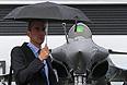 Истребитель Dassault Rafale.