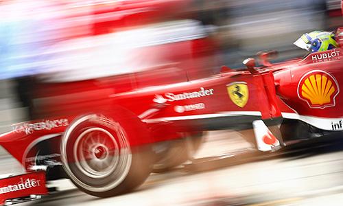 "Гран-при ""Формулы 1"" на трассе Нюрбургринг."