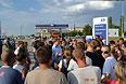 """По данным следователей, ночью с 5 на 6 июля около кафе """"Золотая бочка"""" в Пугачеве между 20-летним местным жителем и 16-летним подростком – выходцем из Чечни - произошла ссора, переросшая в драку. В результате конфликта последний нанес сопернику множественные колото-резанные ранения грудной клетки. Житель Пугачева был госпитализирован в 02:15 6 июля. Через час, несмотря на оказанную медицинскую помощь, потерпевший скончался в реанимации."""