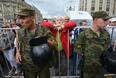 Акция сторонников А. Навального на Манежной площади.