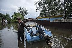 Вода в Амуре снова поднялась