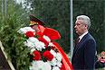 Церемония возложения венков к Могиле Неизвестного Солдата