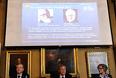 """Нобелевская премия в области физики присуждена профессорам Питеру Хиггсу и Франсуа Энглеру за """"обнаружение механизма, который помогает нам понимать происхождение массы субатомарных частиц, существование которого было доказано обнаружением предсказанной элементарной частицы в ЦЕРН"""", говорится в заявлении комитета, вышедшем во вторник."""