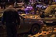 Последствия массовых беспорядков в московском районе Бирюлево.