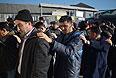 Задержания около овощебазы в Бирюлево