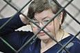 Мать лидера банды Сергея Цапка Надежда, которую повторно судят по обвинению в мошенничестве, в Кущевском районном суде Краснодарского края.