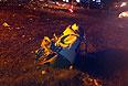 """На месте крушения самолета """"Боинг 737"""" авиакомпании """"Татарстан"""", разбившегося при посадке в аэропорту Казани. (Максимально возможное качество)."""