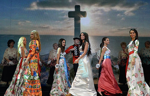 Краса россии 2013 участницы работа девушке в москве в ночном клубе