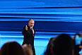 19 декабря 2013. Президент России Владимир Путин на большой ежегодной пресс-конференции в Центре международной торговли на Красной Пресне.