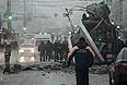 В волгоградском троллейбусе взорвалось заложенное взрывное устройство.