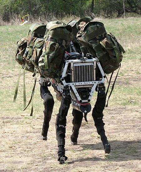 Большая собака – друг солдата