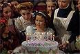 """Кадр из фильма """"Маленькая принцесса"""" (1939г.)."""