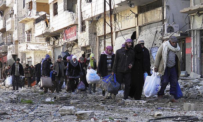 Россия заблокирует проект резолюции по гуманитарной ситуации в Сирии