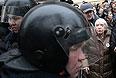 Глава Московской Хельсинкской группы Людмила Алексеева у здания Замоскворецкого суда Москвы.