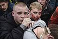 Среди пострадавших в ходе беспорядков в Харькове есть и несовершеннолетние.