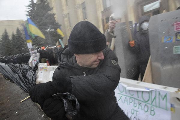 Штурм обладминистрации Харькова.