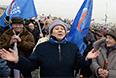 На митинге была принята резолюция, в которой содержится обращение к президенту, депутатам Госдумы, Совета Федерации, гражданам России и жителям Крыма.