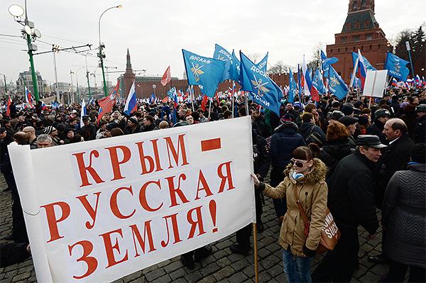 """Напомним, вчера парламент Крыма <a href=""""http://www.interfax.ru/world/363143"""" target=""""_blank"""">проголосовал</a> за присоединение автономии к России."""