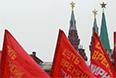 """Акция движения """"Суть времени"""" завершилась около половины шестого вечера митингом на площади Революции.  """"Нужно сплотиться и заявить, что в Москве Майдану не бывать"""", - заявил со сцены лидер движения Сергей Кургинян. """"Россия реагирует мягко и сдержанно на действия банды, узурпировавшей власть"""", - сказал он, призвав патриотические силы объединиться и действовать совместно."""