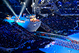Театрализованное представления на церемонии закрытия XI зимних Паралимпийских игр в Сочи.